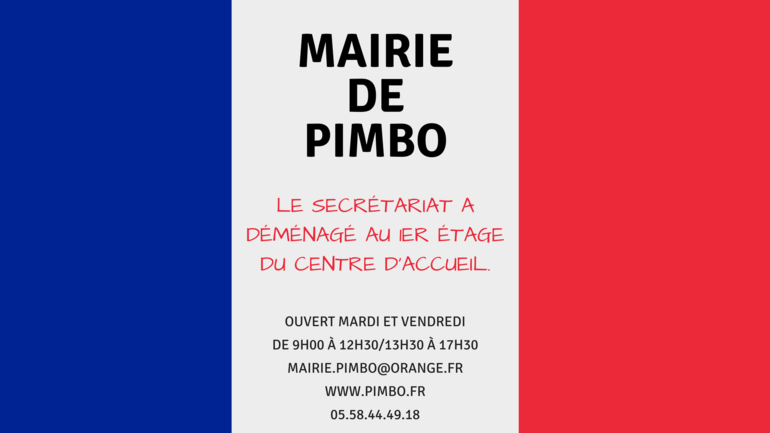 DEMENAGEMENT DE LA MAIRIE